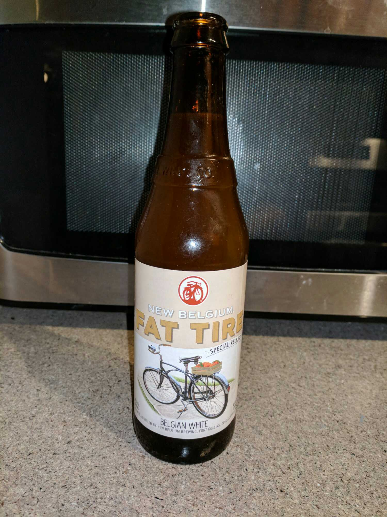 January 14, 2018 New Belgium Brewing Company - Fat Tire Belgian White