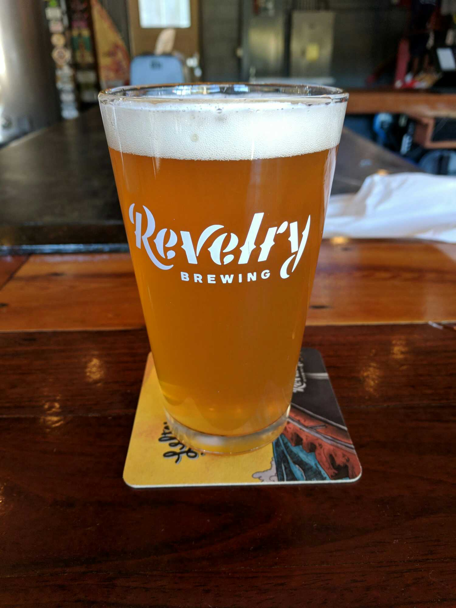 January 19, 2018 Revelry Brewing  - Never Sunny