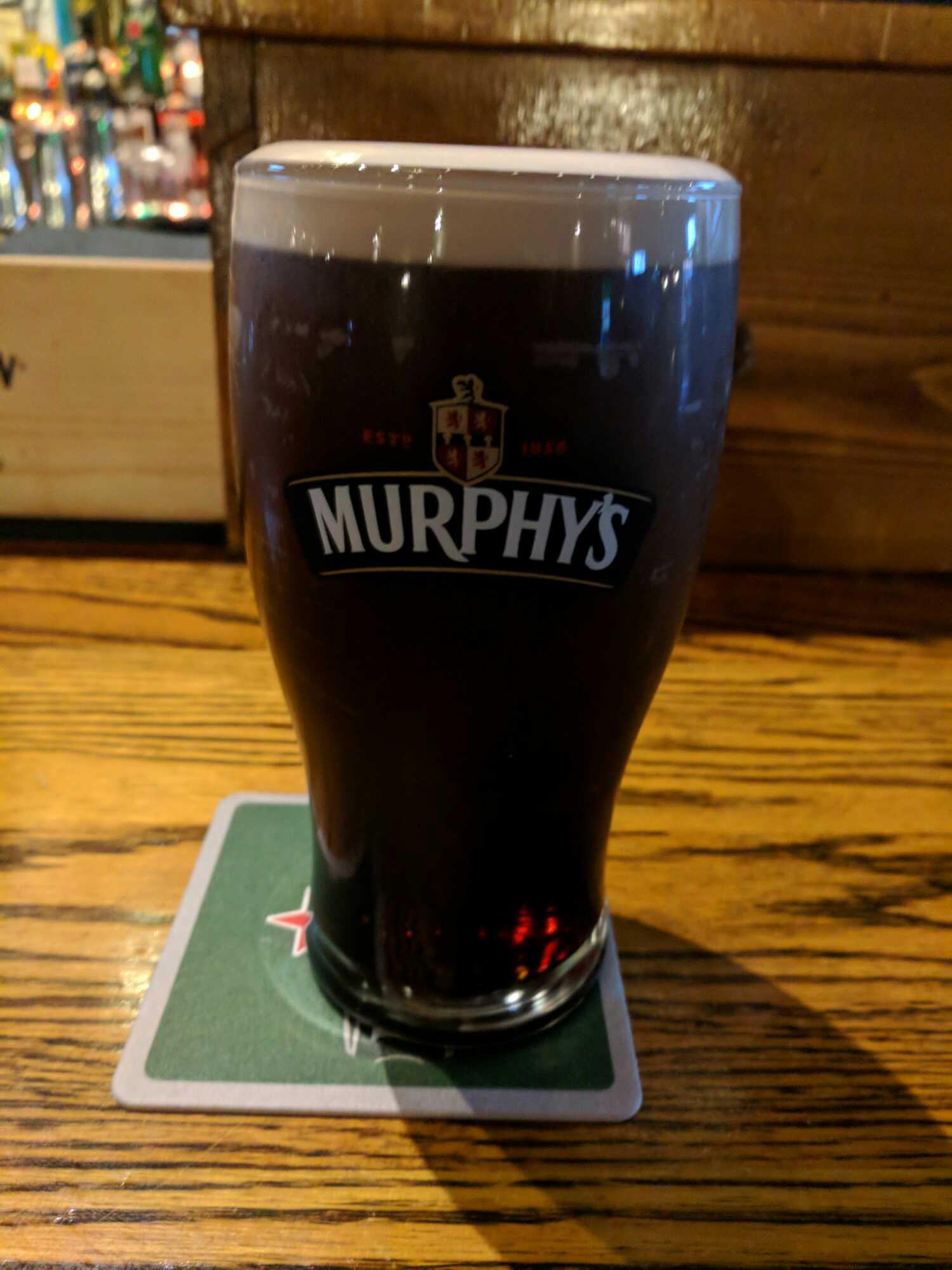 January 20, 2018 Heineken Ireland - Murphy's Irish Stout