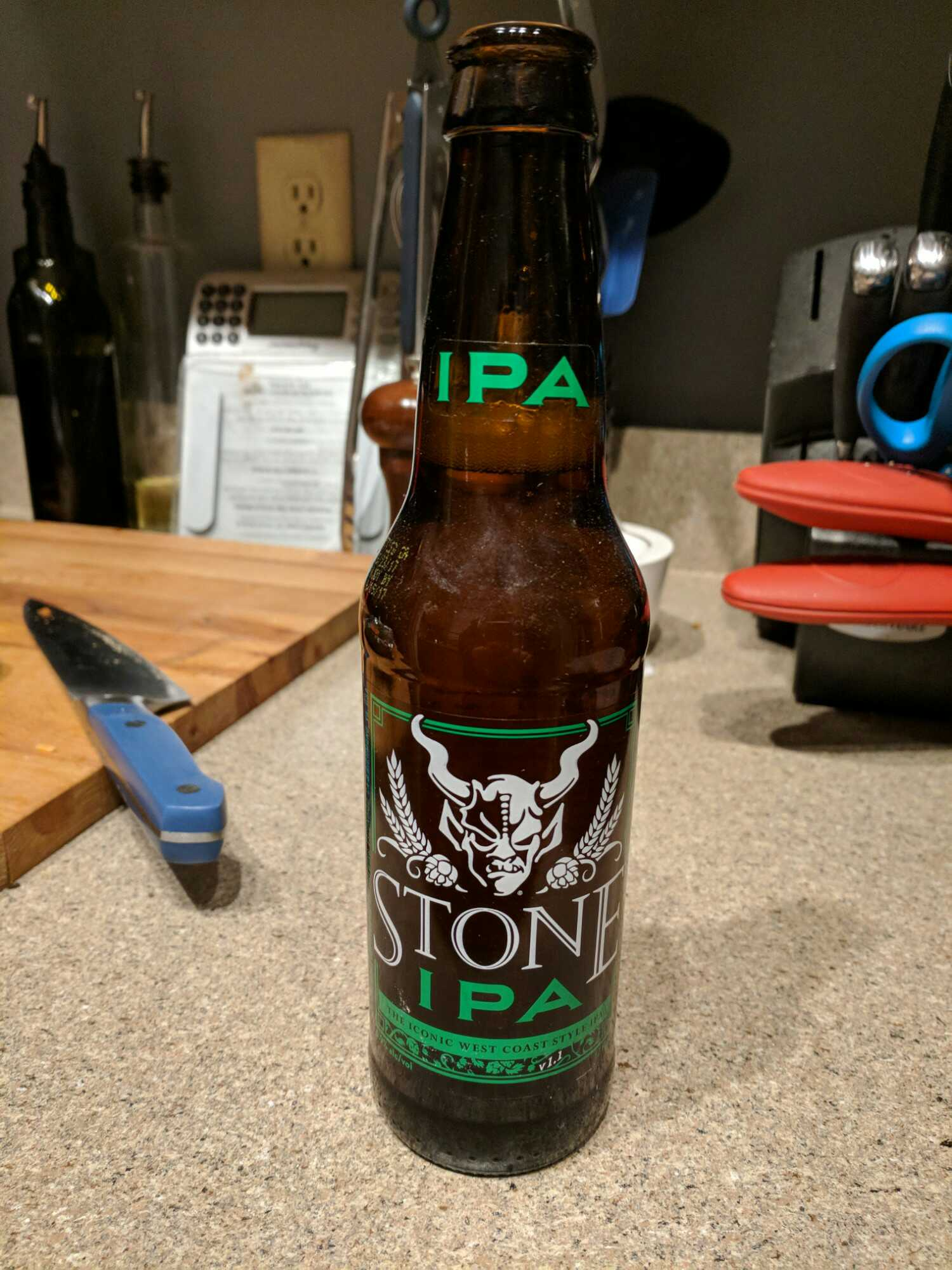 January 31, 2018 Stone Brewing - Stone IPA